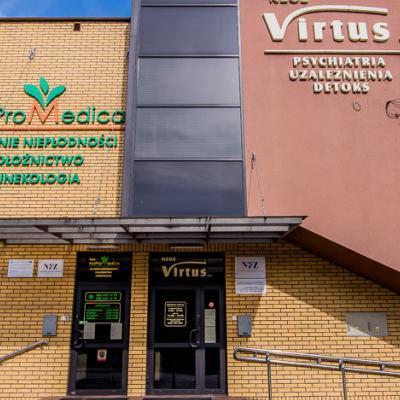 Budynek ośrodka Virtus