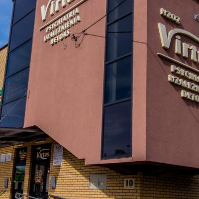 Wejście do ośrodka Virtus